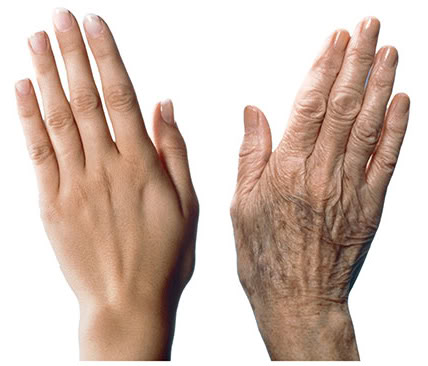 """treatments for aging hands"" 